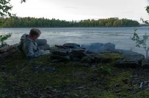 Campsite on Trade Lake