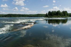 Rapids of Iskwatam Lake (Rapid 1)