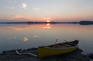Sunset on Wintego Lake